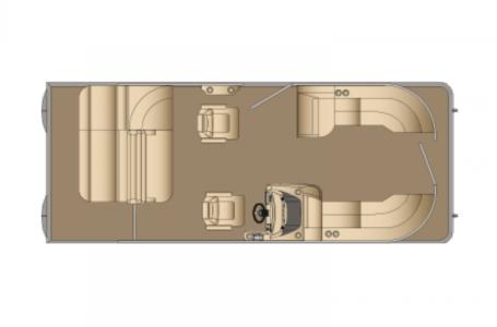 2021 Harris boat for sale, model of the boat is Cruiser 230 & Image # 8 of 13
