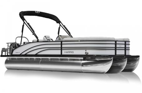 2021 Harris boat for sale, model of the boat is Sunliner 230 & Image # 9 of 13