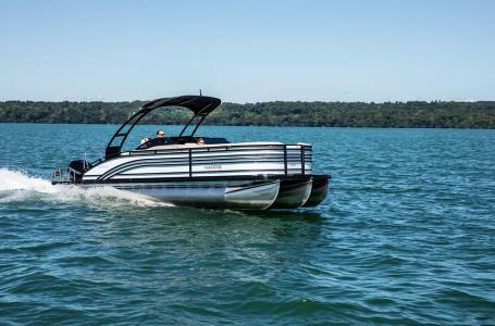 2021 Harris boat for sale, model of the boat is Solstice 250 & Image # 2 of 14