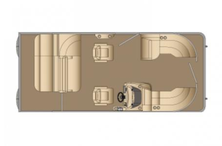 2021 Harris boat for sale, model of the boat is Cruiser 210 & Image # 7 of 12
