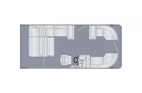 2021 Harris boat for sale, model of the boat is Sunliner 210 & Image # 4 of 12