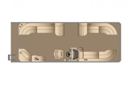 2021 Harris boat for sale, model of the boat is Cruiser 250 & Image # 12 of 13