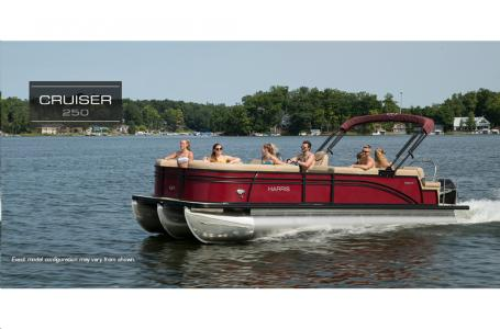 2021 Harris boat for sale, model of the boat is Cruiser 250 & Image # 2 of 13
