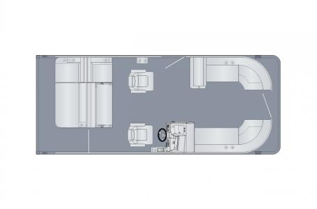 2021 Harris boat for sale, model of the boat is Sunliner 230 & Image # 11 of 13