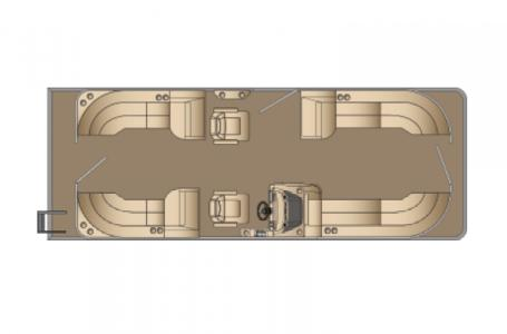 2021 Harris boat for sale, model of the boat is Cruiser 250 & Image # 11 of 15