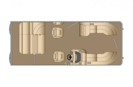 2021 Harris boat for sale, model of the boat is Sunliner 230 & Image # 10 of 13