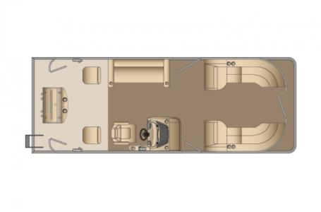 2021 Harris boat for sale, model of the boat is Cruiser 250 & Image # 15 of 15