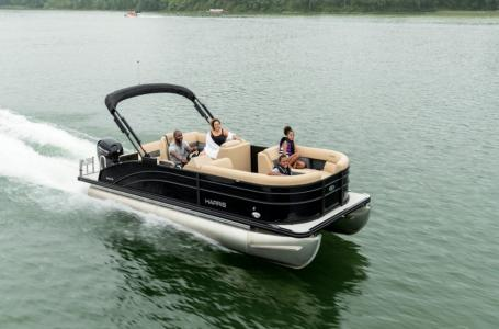 2021 Harris boat for sale, model of the boat is Cruiser 230 & Image # 4 of 13