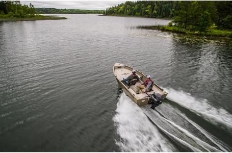 2021 Crestliner boat for sale, model of the boat is 1450 Discovery Side Console & Image # 7 of 13