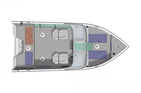 2021 Crestliner boat for sale, model of the boat is 1650 Fish Hawk SE Walk-through & Image # 1 of 11