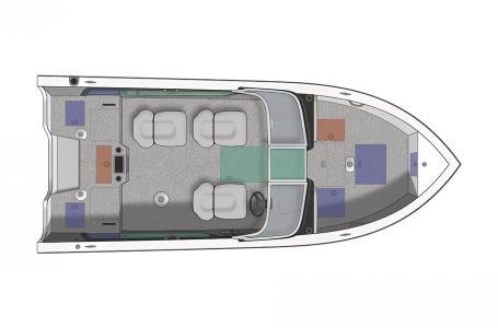 2021 Crestliner boat for sale, model of the boat is 1850 Super Hawk & Image # 9 of 27