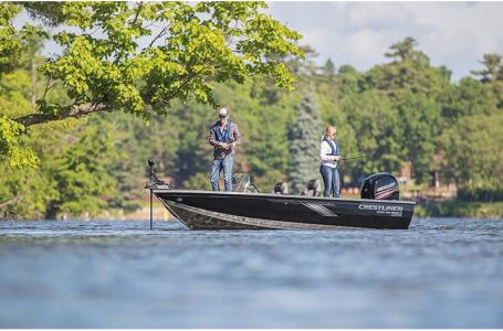 2021 Crestliner boat for sale, model of the boat is 1650 Fish Hawk SE Walk-through & Image # 2 of 11