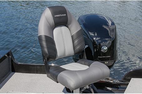 2021 Crestliner boat for sale, model of the boat is 1650 Fish Hawk SE Walk-through & Image # 11 of 16