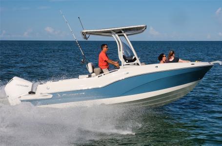 2021 Finseeker boat for sale, model of the boat is 220 CC Finseeker & Image # 2 of 6