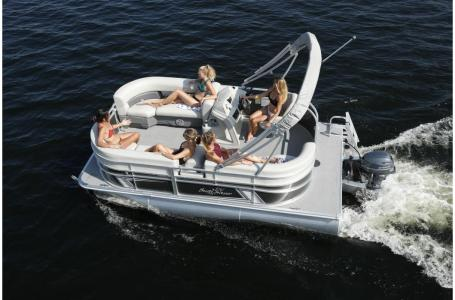 2021 SunChaser boat for sale, model of the boat is Vista 16 LR & Image # 9 of 12