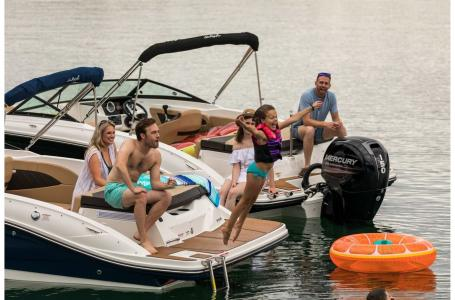 2022 Sea Ray boat for sale, model of the boat is SPX 210 & Image # 2 of 6