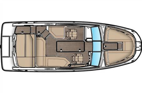2022 Sea Ray boat for sale, model of the boat is SPX 230 & Image # 6 of 6