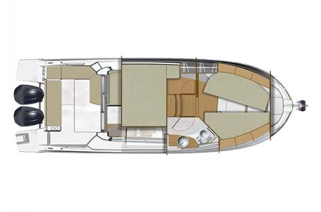 2022 Beneteau boat for sale, model of the boat is Antares 9 OB & Image # 10 of 10