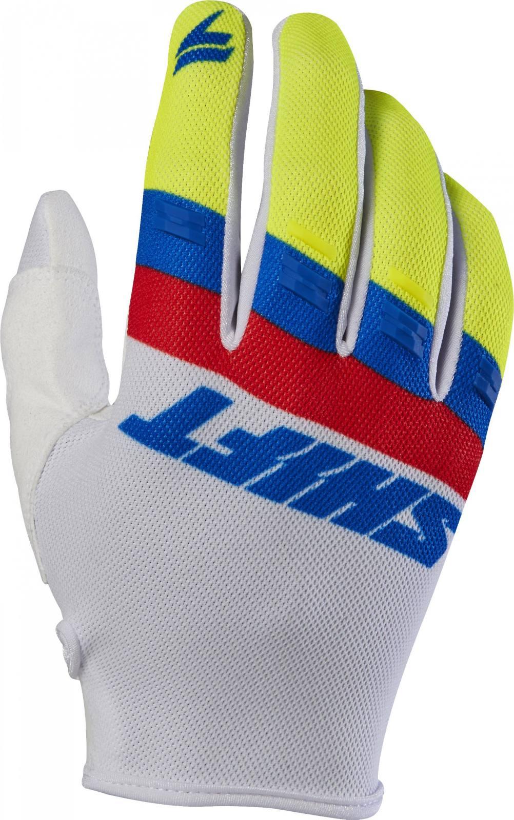 Shift WHIT3 AIR Gloves Pink Black Motorcycle Men;s sized  ATV  Gloves 19098-285