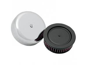 Custom Air Cleaner Assembly for 40-45mm Mikuni Air Filter