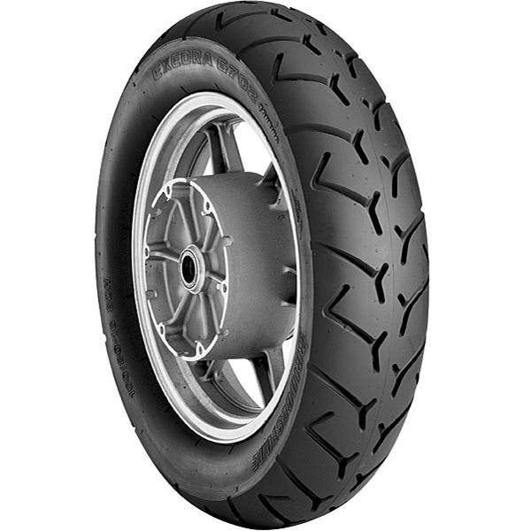 Tire Type: Street 150//80-16 Load Rating: 71 Tire Construction: Bias Position: Front Tire Application: Touring 004931 Speed Rating: H Bridgestone Exedra Max Replacement Bias Tire Rim Size: 16 Tire Size: 150//80-16