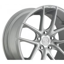 Quantity of 1 NICHE Targa M131 Rim 20X8.5 5x120 Offset 35 Silver /& Machined