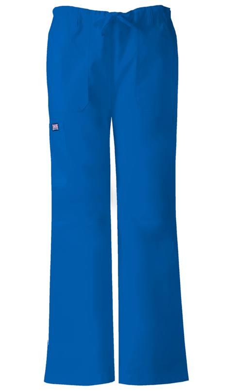 Cherokee Workwear Aloe Petite 4101P ALOW Flare Leg Scrubs Pants FREE SHIP TO US!