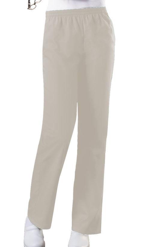 Cherokee Workwear Natural Rise Flare Leg Drawstring Pant Tall 4101T BLKW Black