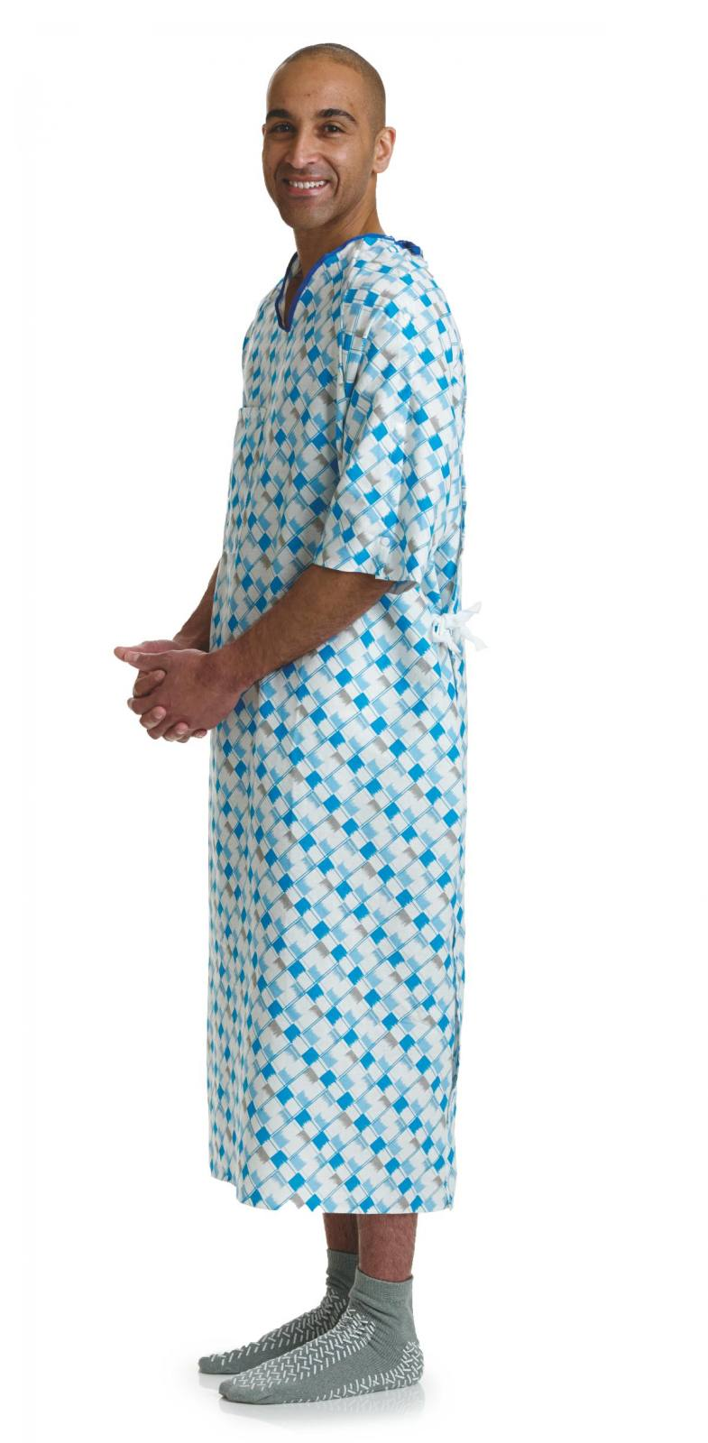 Medline BLUE COLLECTION IV GOWNS from Jackson Medical Supply