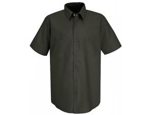 SHORT SLEEVE INDUSTRIAL SOLID WORK SHIRTS
