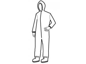 TYVEK® ISOCLEAN® COVERALLS-SERIES 105
