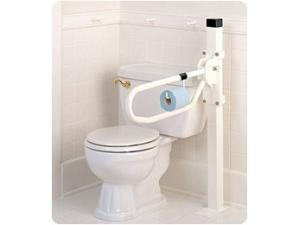 TOILET HINGED ARM SUPPORTS