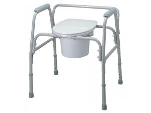 BARIATRIC COMMODE SEAT & LID