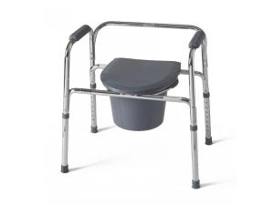 3-IN-1 STEEL COMMODE