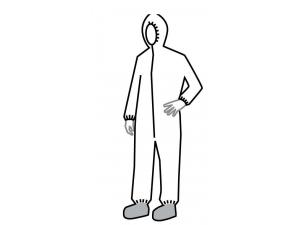 TYVEK COVERALLS-SERIES 122