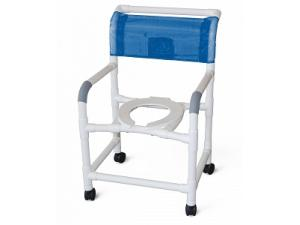 PVC WIDE DELUXE SHOWER CHAIR