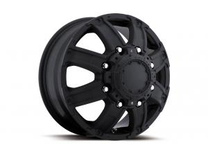 024 Gauntlet Dually Matte Black Front Wheels