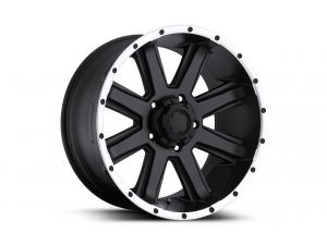 Crusher - 195B - Semi-Gloss Black Wheels