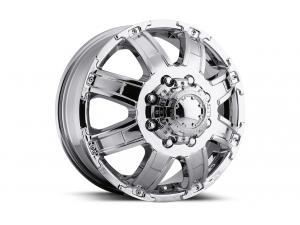 024 Gauntlet Dually Chrome Front Wheels