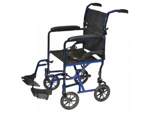 "PROBASICS® 17"" LIGHTWT ALUMINUM TRANSPORT CHAIR"