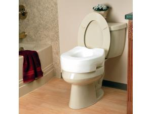 INVACARE® RAISED TOILET SEAT