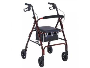 PROBASICS® ALUMINUM ROLLATOR WITH LOOP BRAKES