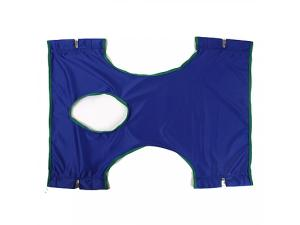 INVACARE STD. SLING, SOLID POLY. W/ COMMODE OPEN