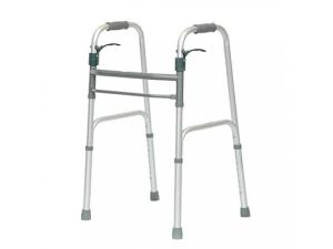 PROBASICS® SURE LEVER FOLDING WALKER W/WHEELS