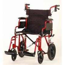 NOVA Conditions 19 INCH TRANSPORT CHAIR WITH 12 REAR WHEELS