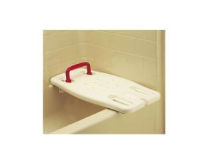 BATH BOARD WITH RED HANDLE