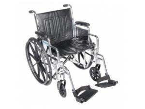 CHROME SPORT DUAL AXLE WHEELCHAIR