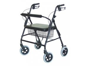 OVERSIZE ROLLATOR WITH LOOP BARIATRIC ALUM FRAME