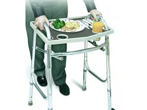 WALKER TRAY W/ GRIP MAT