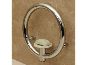 INVISIA SOAP DISH GRAB BAR